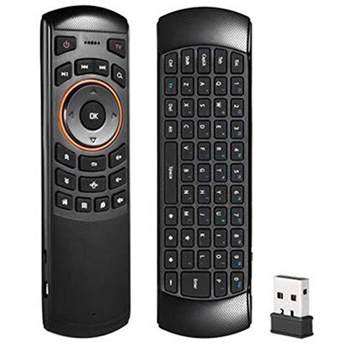 Mini Tastatur IR Air Maus Handheld-Fernbedienung für Lernmaterial X6 USB 2.4G Wireless QWERTZ-Standard -