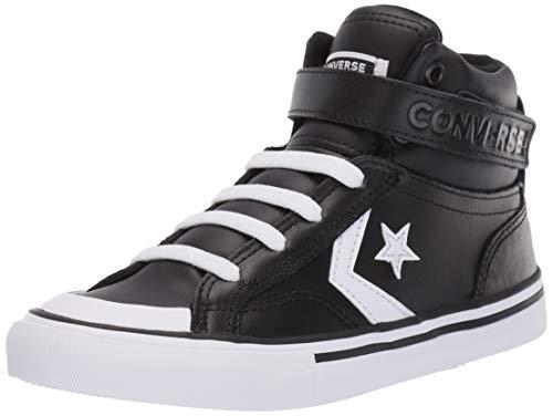 Converse Unisex-Kinder Chuck Taylor All Star Hohe Sneaker Schwarz (Black White 000), 33 EU