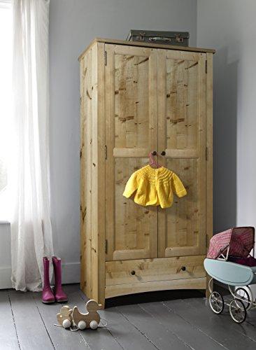 Tobie armario en pino Natural Kids Noa y Nani