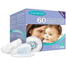 Lansinoh - Almohadillas de lactancia desechables (Caja de 60)