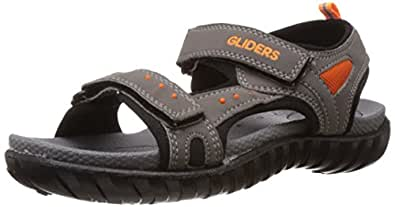 Gliders (from Liberty) Boy's Grey Sandals and Floaters - 5 UK