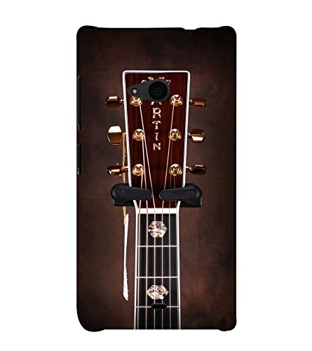 PrintVisa Designer Back Case Cover for Microsoft Lumia 535 :: Microsoft Lumia 535 Dual SIM :: Nokia Lumia 535 (A String Panel of A Guitar)
