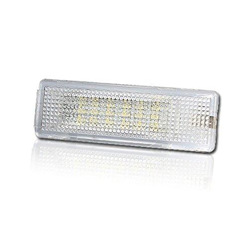 Akhan KB02 - LED Kofferraumbeleuchtung Module komplette Einheit Plug'n Play geeignet für VW Caddy, EOS, Golf 5, 6, Jetta, Passat, Polo, Scirocco, Tiguan, Touran, Transporter