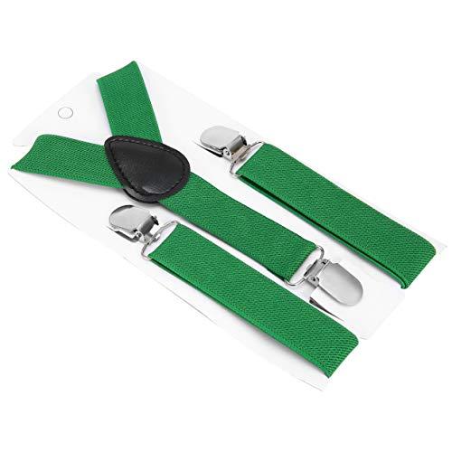 Banbie8409-Justierbar und elastisch mit Metallclips Polyester Kids Design Hosenträger und Fliege Fliege Set Passende Krawatten Outfits Dark Red Bow Tie
