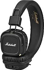 Marshall Major II Cuffie Bluetooth, Nero