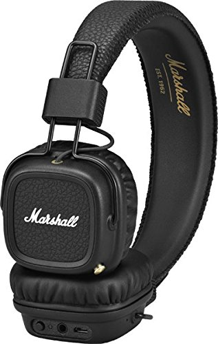 Marshall Major II Cuffie Bluetooth, Nero
