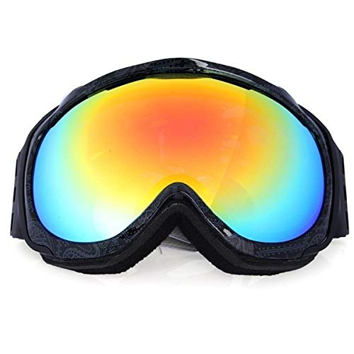 Unisex Anti Fog UV Doppelscheibe Winter Racing Outdooors Snowboard Skibrille Sun Glassess CRG98-2A