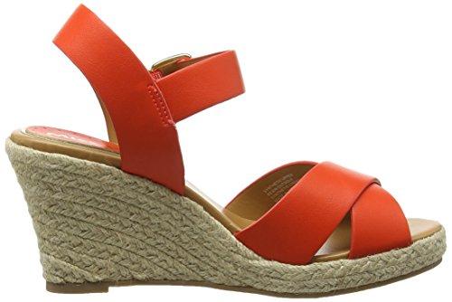 Miss KG Pineapple, sandale compensée femme Orange - Orange