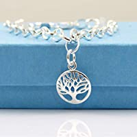 925 Sterling Silver Tree of Life Bracelet - Gift Boxed