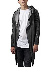 Urban Classics Cold Dye Hooded Cardigan, Gilet Homme