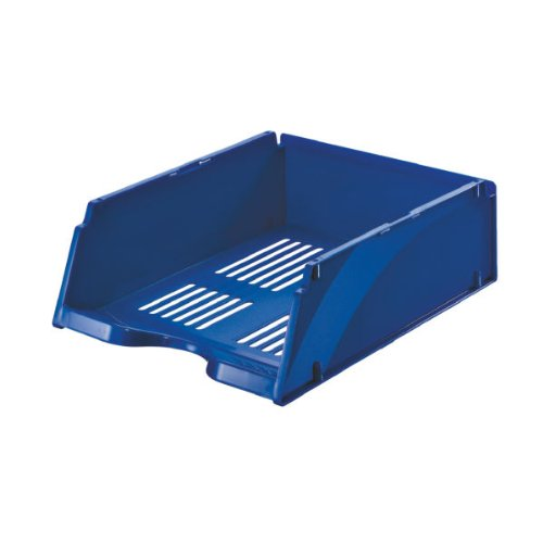 Esselte vaschetta portacorrispondenza, Formato A4, Blu, Jumbo Transit, 15659