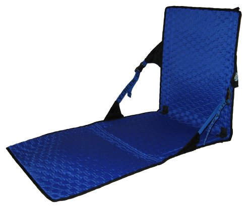 Crazy Creek Products HEX 2.0 Power Lounger (Black/Royal)