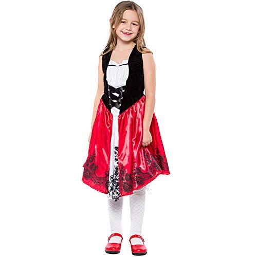 (MTSBW Halloween-Kleines Teufel-Kleid-Rotes Kostüm Im Freien,L)