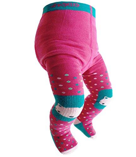 Ewers collant ragazze abs calzamaglie di marca correzione del granchio antiscivolo bebè neonato gatto per bambini (ew-905034-w17-ma1-1758-80/86) incl. everykid-fashionguide