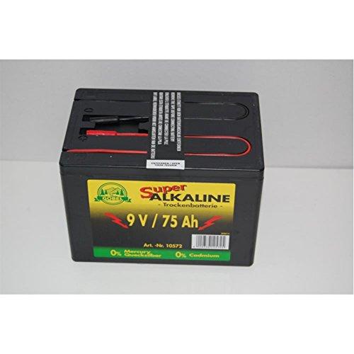 Göbel Landfuxx Batterie pour électrificateur de clôture 9 V/75 Ah
