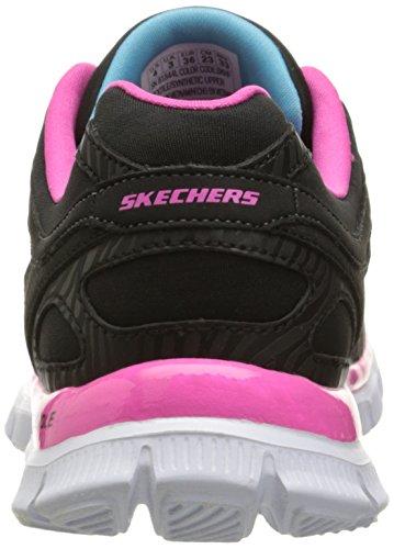 Skechers Mädchen Skech AppealEye Catcher Low-Top Schwarz (Bkhp)