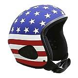 Skorpion TITAN-Kulthelm als US-Flag Biker, Chopper, Ski, Harley, Jethelm , Gr.: M