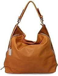 IO.iO.mIO étui en cuir-sac bandoulière en cuir véritable-couleur au choix :  38 x 32 x 13 cm (l x h x p)