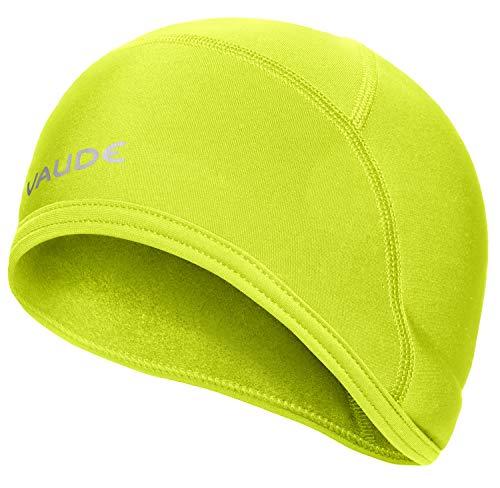 VAUDE Bike Warm Cap Helm-Unterziehmütze, Grün (Bright Green), M