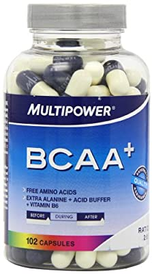 Multipower Sportsfood BCAA Capsules - Pack of 102 Capsules from Multipower