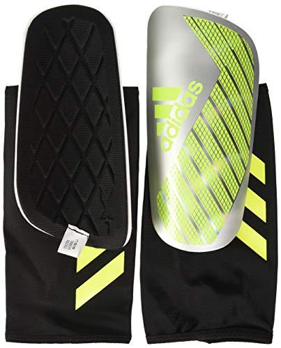 adidas X PRO Shin Guards, Silver met./Solar Yellow/White, L