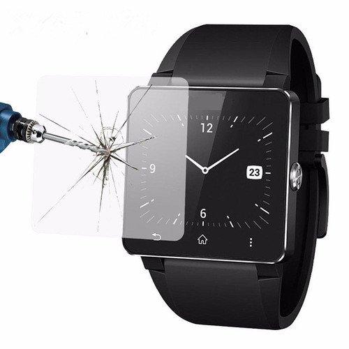 Interesting® 2 Packungen Tempered Glass Screen Protector Film Deckhaut für Sony Smartwatch 2 SW2