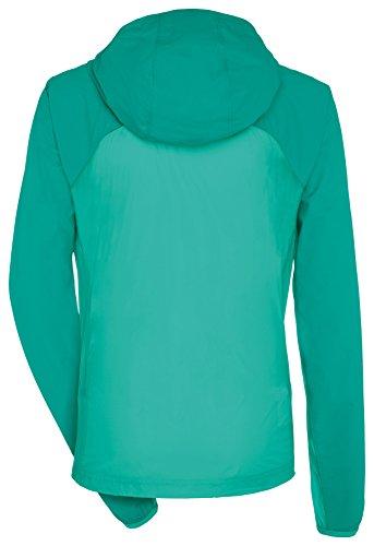 Vaude Croz - Veste softshell Femme - rouge/bleu 2015 Turquoise - Lotus Green