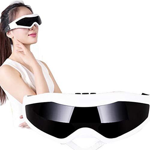 EDtara Geburtstag Jahrestag Valentine Hochzeit Geschenk, Augenmassagegerät Schlafaugenmaske Travel Rest Eyeshade Eye Relax Brille Anti-Falten-Vibrations-Augenpflege Beauty Tool