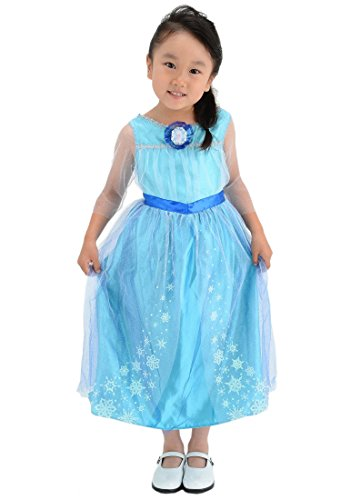 (Disney Ana et La Reine des Neiges robe à la mode Elsa 100cm-110cm)