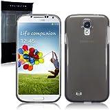 Samsung Galaxy S4 i9500 TPU Gel Skin Case / Cover - Smoke Black