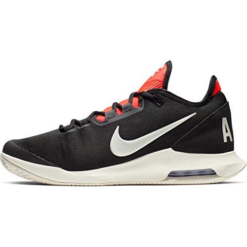 Nike Herren AIR MAX Wildcard Cly Tennisschuhe, Mehrfarbig (Black Phantom-Bright Crimson 006), 43 EU
