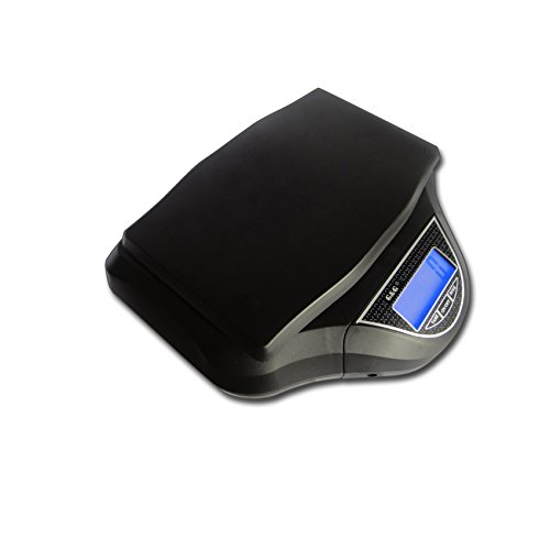 G&G SF-526 40kg/5g Kompakte Paketwaage m. externem beleuchtetem XL LCD scale