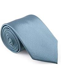 GENTSY Cravate pour Homme Fait Main Largeur 8 cm ou 6 cm - Couleurs unies