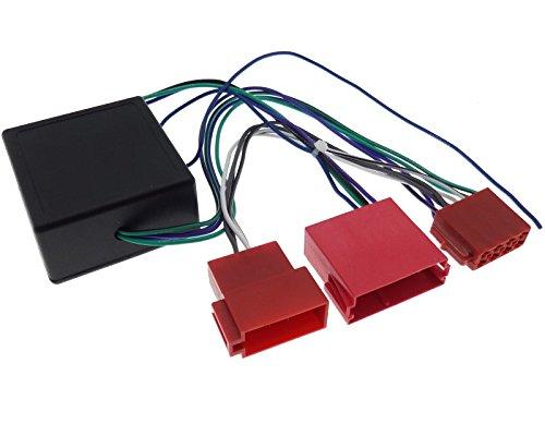 Aktivsystem Radio Adapter für BOSE NOKIA DSP VAG Lautsprecher mini ISO Stecker