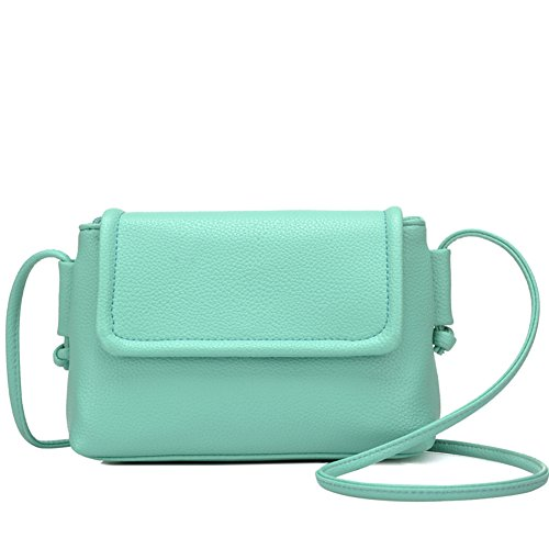 Puro Colore Fashion Messenger Bag/Morbida Pelle Semplice Borsa A Tracolla-A D