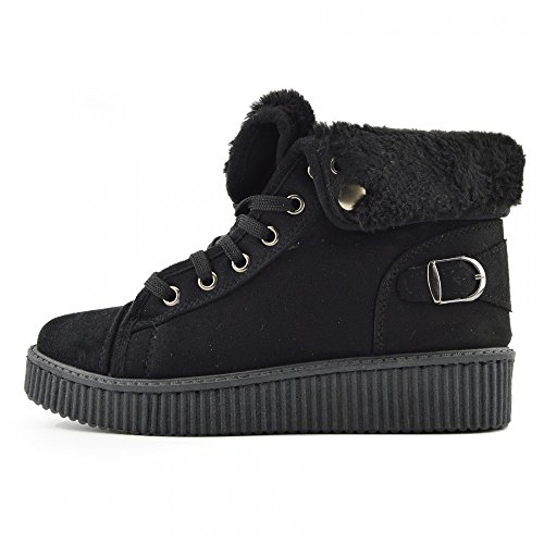 Kick FootwearFlatform - Truffle Collection donna Black - BFX307