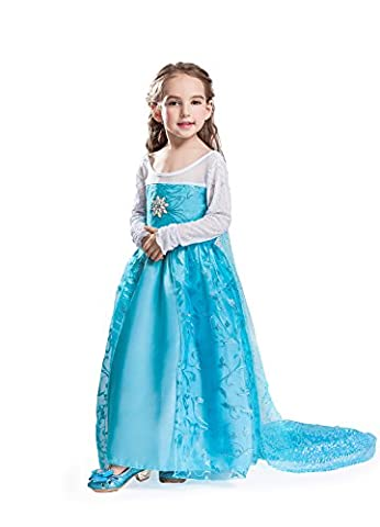 Costume La Reine Des Neiges - ELSA & ANNA® Filles Reine des Neiges