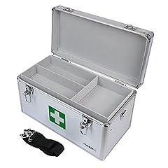 HMF 14701-09 Alu Medizinkoffer, Koffer