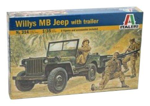 Italeri 0314 - jeep model kit scala 1:35