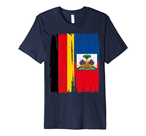 Deutschland Haiti Flaggen T-Shirt