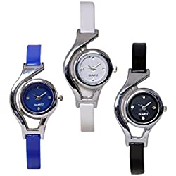 Gopal Retail Fancy Glory Analog Watch combo of 3 - For Women