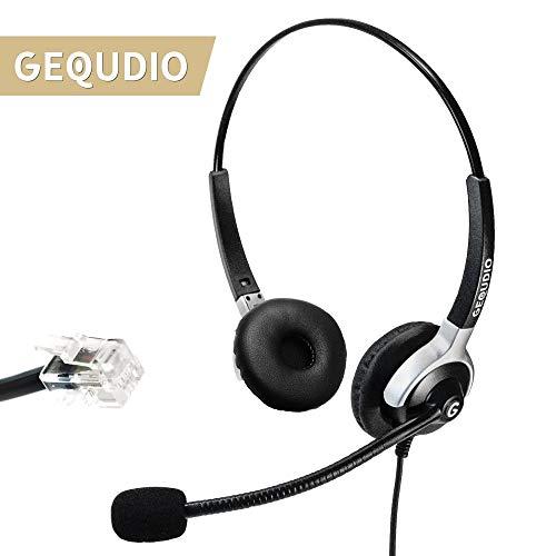Telefon Headset geeignet für Cisco ®* Telefone - IP Phone mit RJ-Anschluss (2-Lautsprecher) (Ip Cisco Headset)