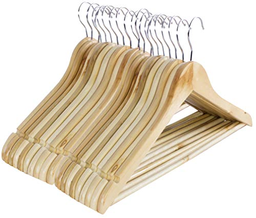Kleiderbügel aus Holz, 20 Stck.