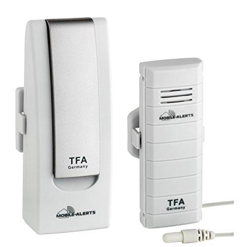 TFA Dostmann Temperatur Monitor WeatherHub SmartHome StarterSet 2, weiß