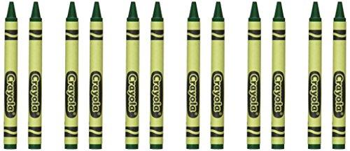 Standard-möbel-poster (Crayola 52-0836-Voggy-044Single Farbe Crayon Mine, 5/40,6cm X 3-5/20,3cm Größe, Standard, grün)