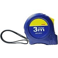 UEETEK Cinta de medición métrica de la escala métrica de la regla retractable de la cinta profesional de 3M