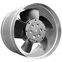 Piccolo Metallo ofenventilator Canale Ventola warmluftverteiler fino a 80°C camino della Turbina di Whisper DN 125–100M3/H