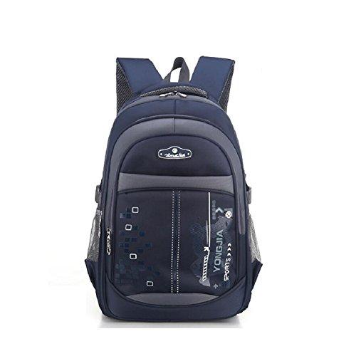 LF&F Backpack Panno Impermeabile Oxford Alta Qualità Scuola Primaria Leggero Zaino Unisex Per Lo Svago Esterno Sport Multiuso Viaggio Campeggio Borsa Viaggio Per Picnic Vento Da Collegio C
