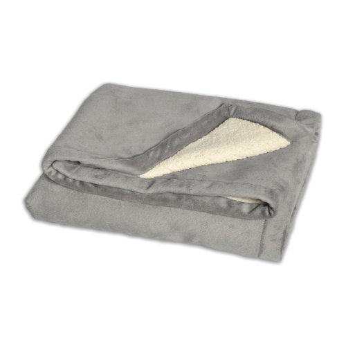 JJ Cole BundleMe Throw Blanket, Graphite