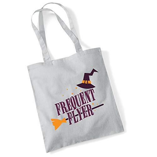 Bang Tidy Clothing Halloween kostüm Tote Bag Trick oder Festlichkeit Geschenke Frequent Flyer Shopper (Flyer Kostüm)